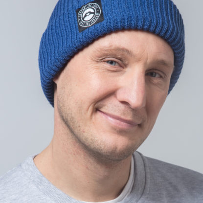 Beanie Fisherman Blue