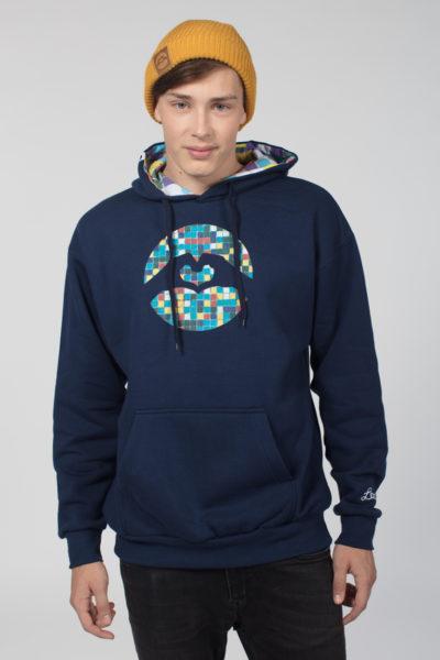 Men Special Logo Hoodie Mosaic