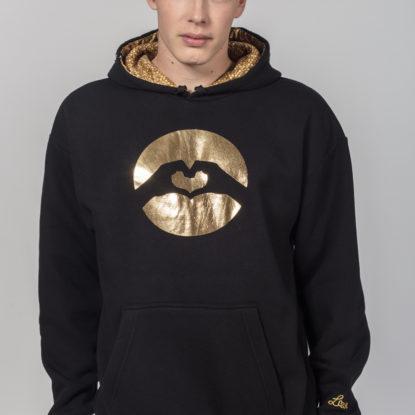 Men Special Logo Hoodie Golden Erea
