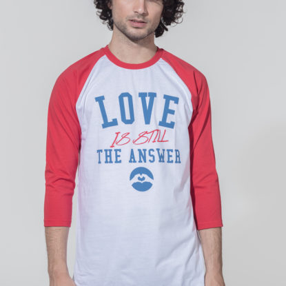 Men Raglan LSA College red