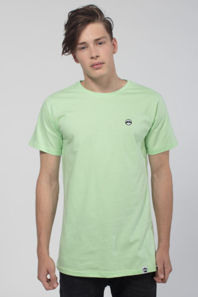Men Artistic T-Shirt Love is More Light Green