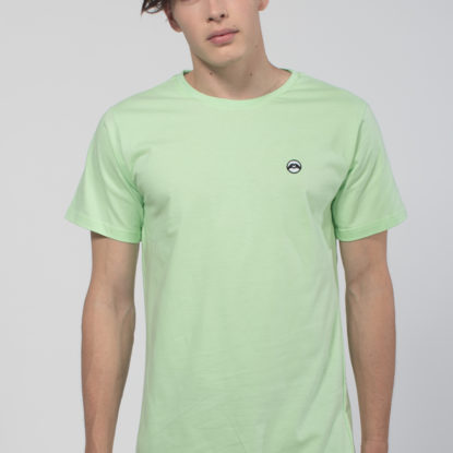 Men Artistic T-Shirt Love is More Light Green