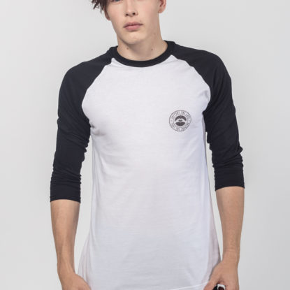 Men Raglan Stamped Logo Hip 1