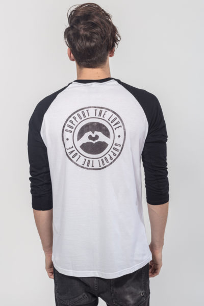 Men Raglan Stamped Logo Hip 2