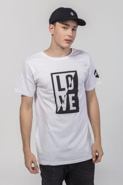Men Artistic T-Shirt Ying Yang
