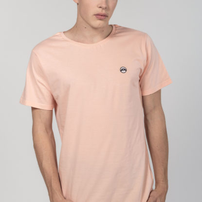 Men Artistic T-Shirt Love is More Peach