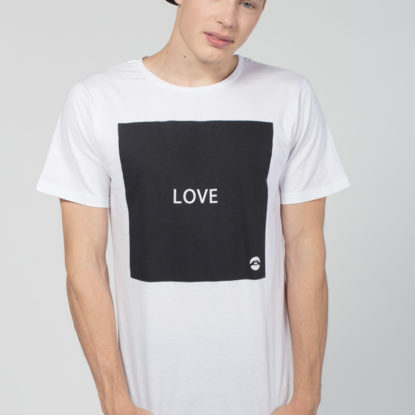 Men Artistic T-Shirt Square