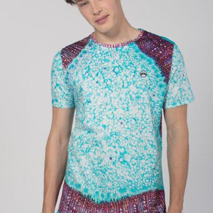 Men Artistic T-Shirt Microcosm