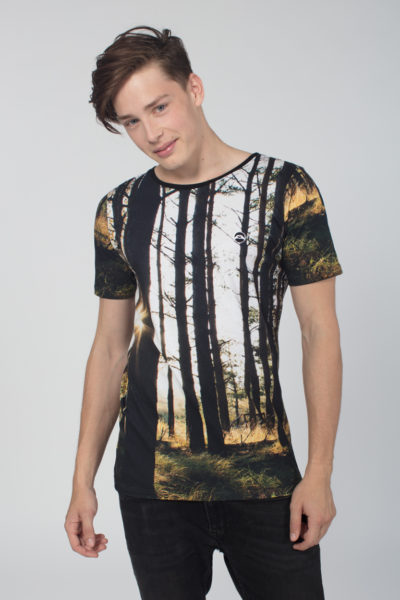 Men Artistic T-Shirt Magic Forest