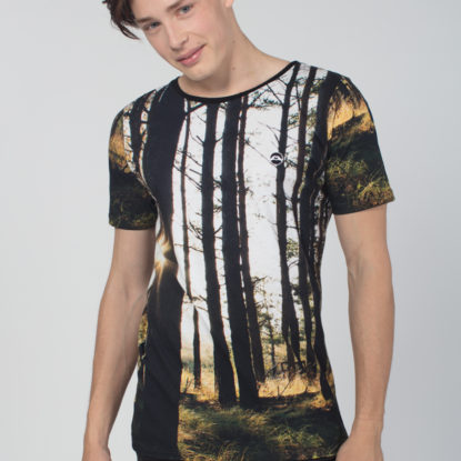 Men Artistic T-Shirt Magic Forest