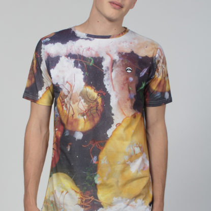 Men Artistic T-Shirt Calamary
