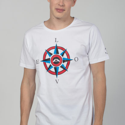 Men Artistic T-Shirt Compass