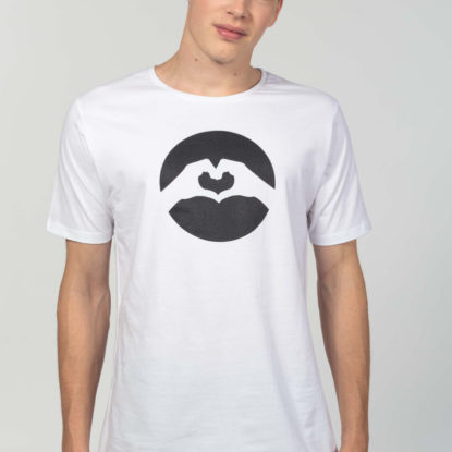 Men Classic Logo T-Shirt White
