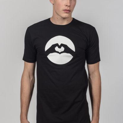Men Classic Logo T-Shirt Black