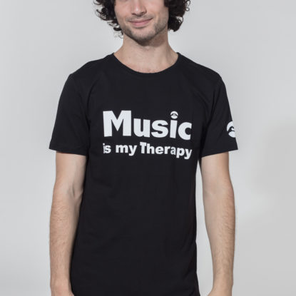 Men Therapy Series T-Shirt Music is my Therapy
