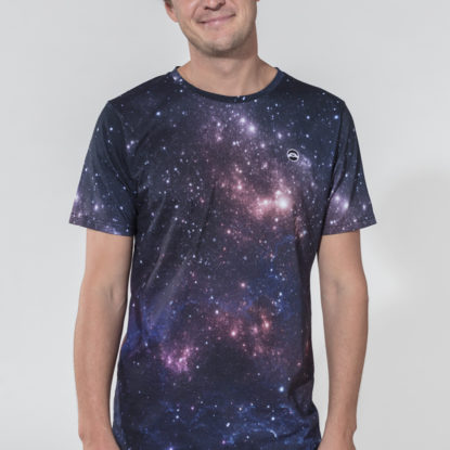 Men Artistic T-Shirt Macrocosm