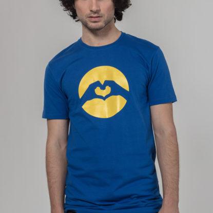 Men Classic Logo T-Shirt Marine