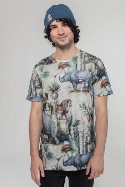 Men Artistic T-Shirt Safari