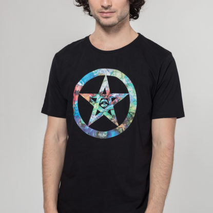 Men Artistic T-Shirt Be Safe Logo Trippy