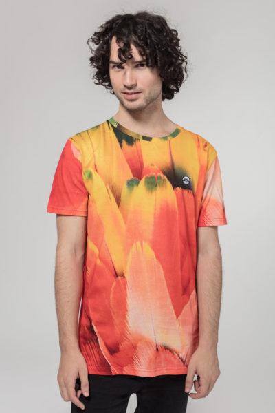 Men Artistic T-Shirt Makaw