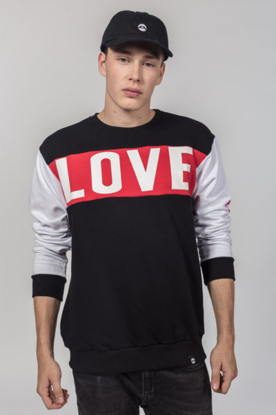 Men Artistic Sweater Loveis
