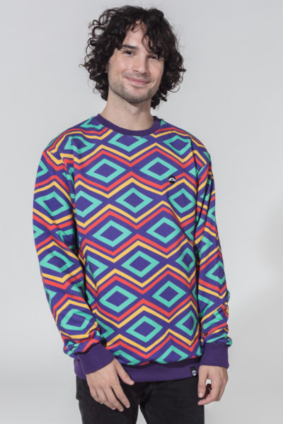 Men Artistic Sweater Diana Ross