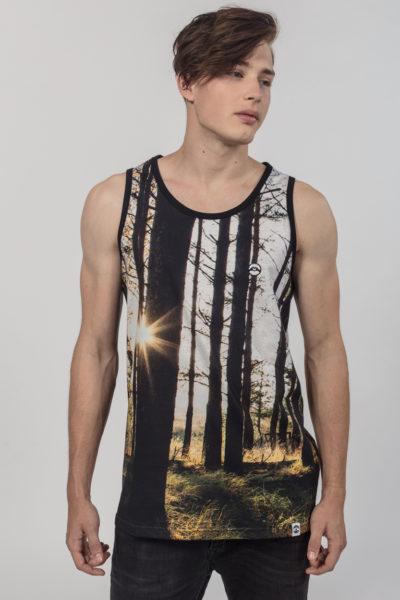Men Tank Top Magic Forest