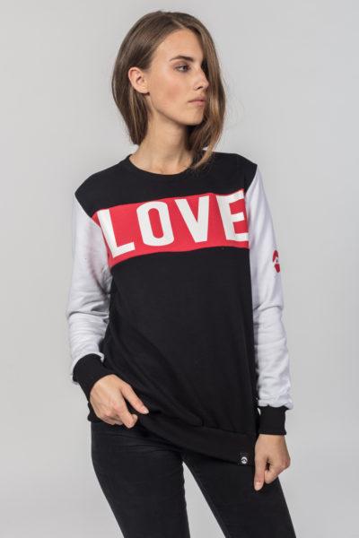 Women Women Artistic Sweater Loveis 2