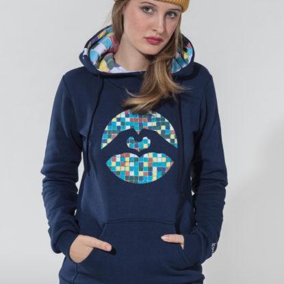 Women Special Logo Hoodie Mosaic