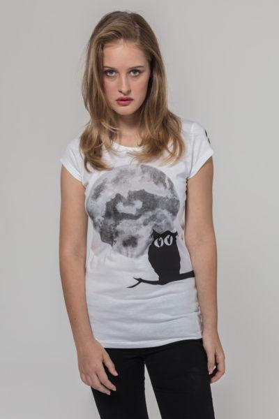 Women Artistic T-shirt UHU