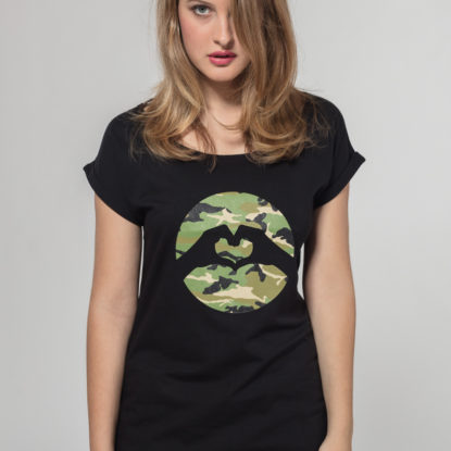 Women Special Logo T-shirt Camouflage