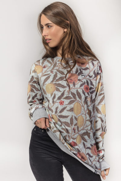 Women Artistic Sweater Oldschool