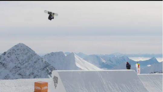 Love anna gasser snowboard